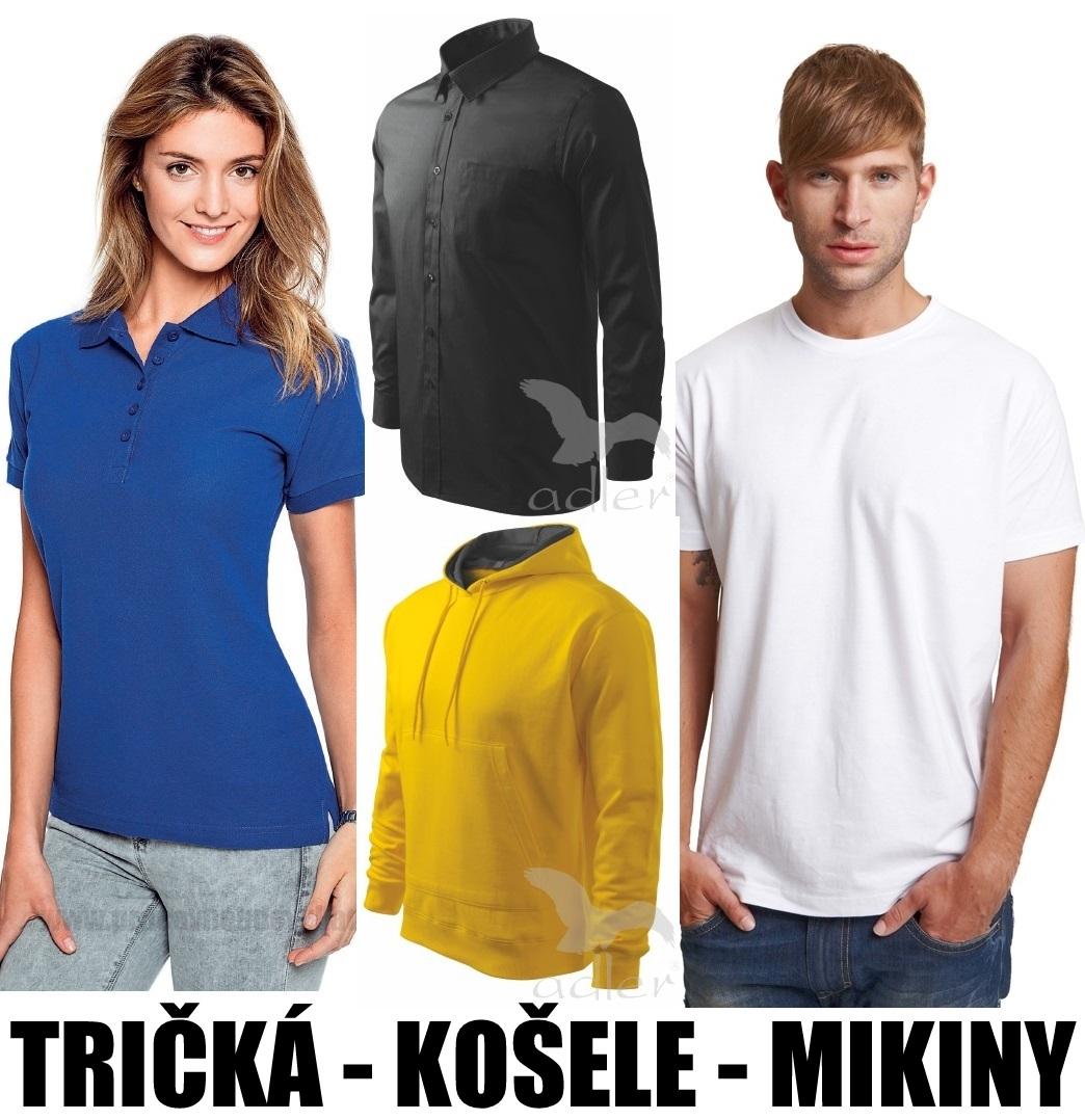 Pracovné odevy - FAREBNÉ, BIELE KOŠELE A TRIČKÁ, POLOKOŠELE