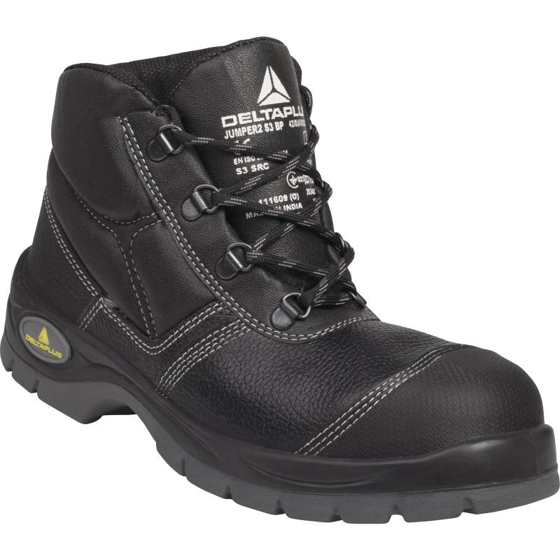 Pracovná a bezpečnostná obuv s oceľovou špicou a planžetou fe1c9a56e3f