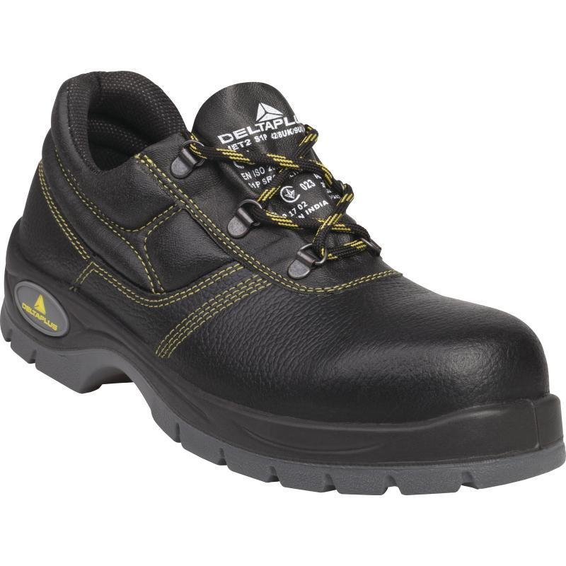 a6bf45a7176f Pracovná a bezpečnostná obuv s oceľovou špicou a planžetou
