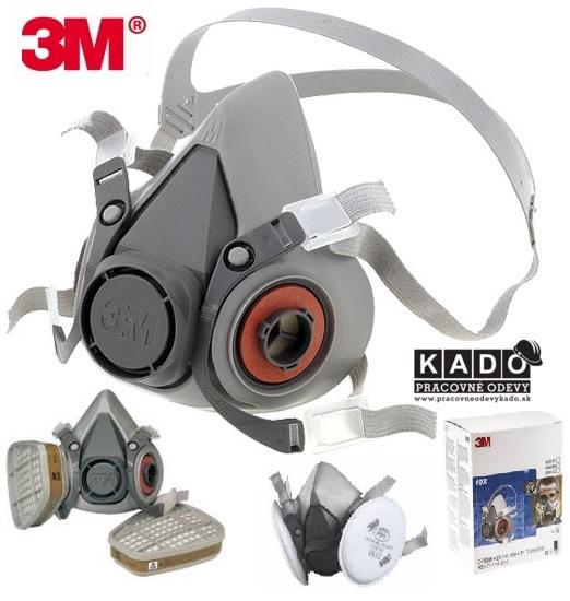 Ochranné pracovné pomôcky - ochranné masky cd41385dce