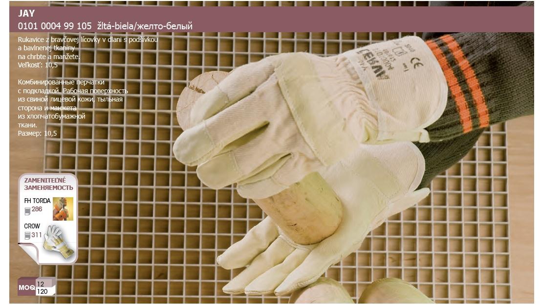 Pracovné rukavice JAY LIGHT HS 001-006 F F  8455613b87