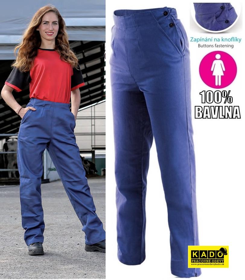 76f1145a00c8 Pracvoné odevy-dámske montérkové nohavice HELA CXS do pásu ...