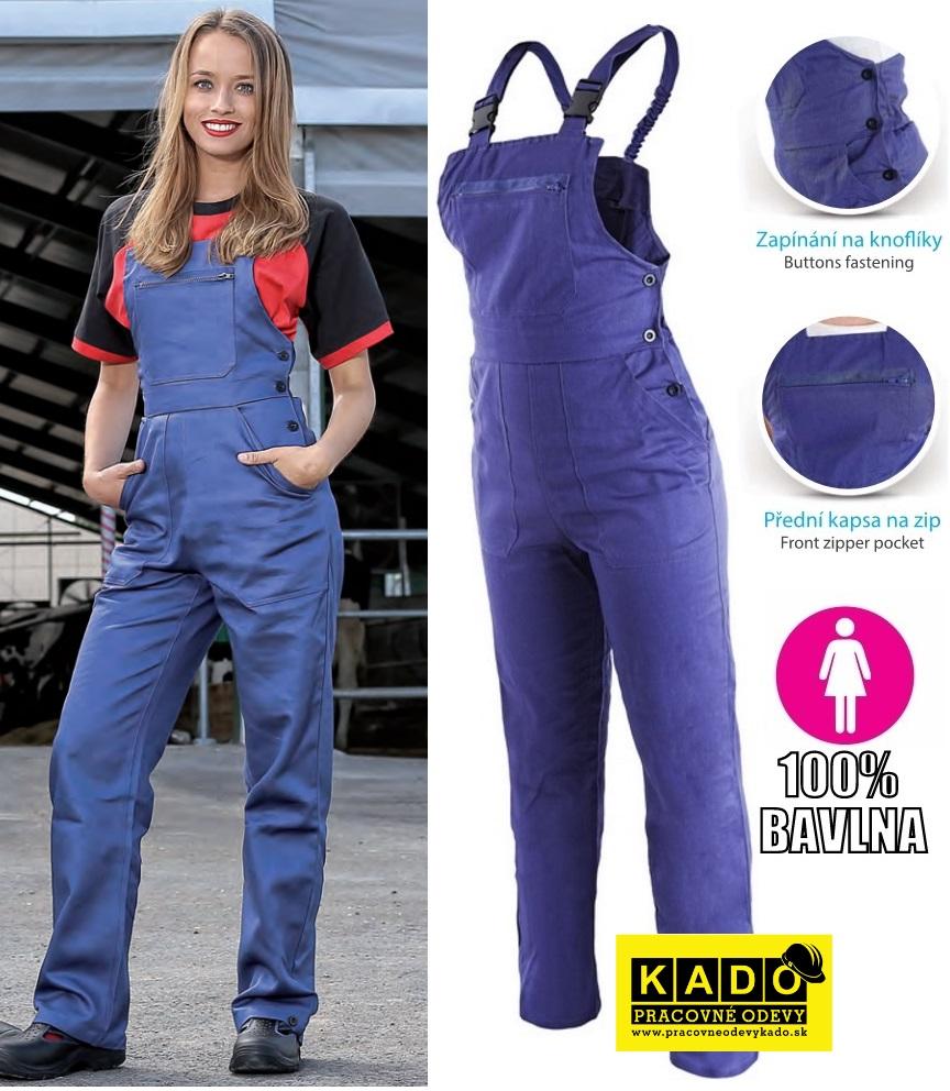 d27d0554f3c8 Pracovné odevy - dámske montérkové nohavice YVONA CXS
