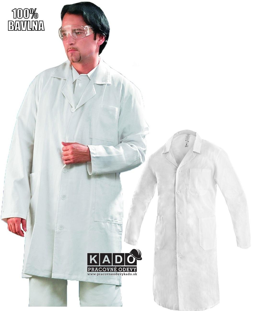 63fe2ef0ccc9 Pracovné odevy - plášť ADAM CXS biely
