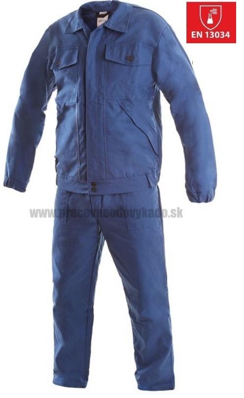 732683cfbb92 Pracovné odevy - kyselinoodolný oblek CHEMIK CXS