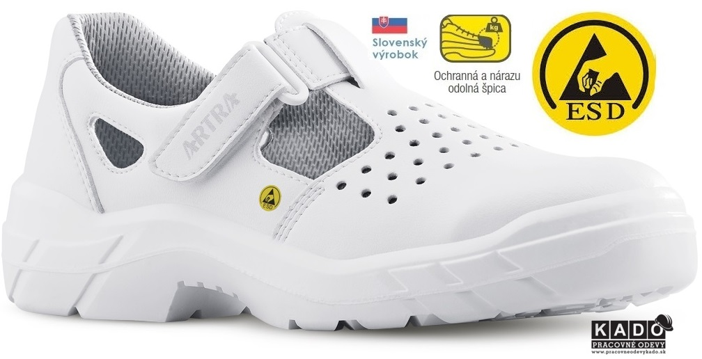 eb324818a54a Pracovná obuv ARTRA ARMEN S1 FO Sandále pracovné ESD