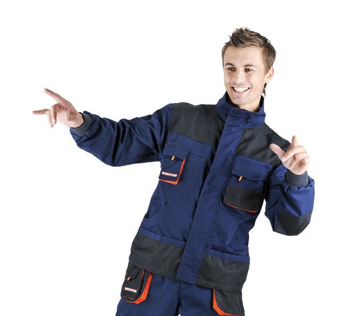 Pracovné odevy - Montérková bunda EMERTON NAVY ca70b602c05
