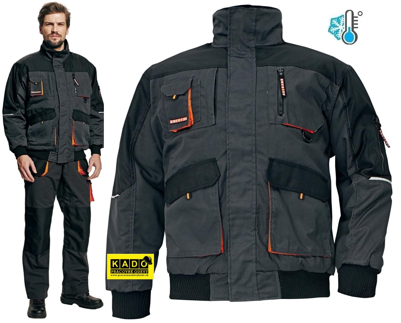 Pracovné odevy - Zateplená bunda EMERTON PILOT  7528f8465aa
