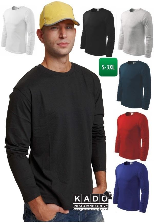 204395eb730b Pracovné odevy - tričko s dlhým rukávom CAMBON ČERVA
