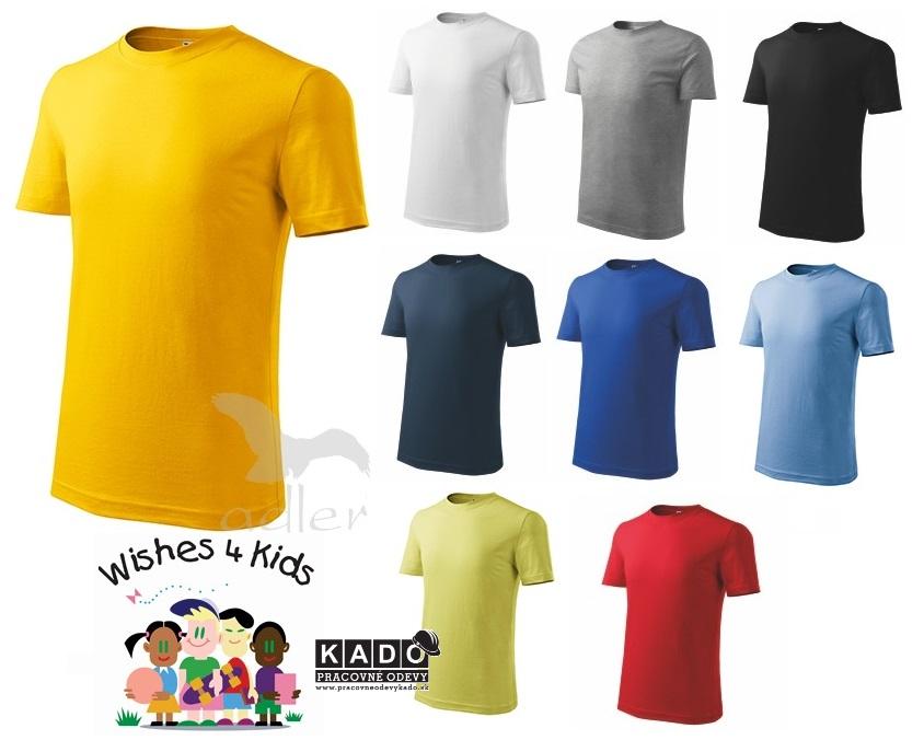 43cabe454dd 135 Tričká detské Classic NEW 145 adler viac farieb