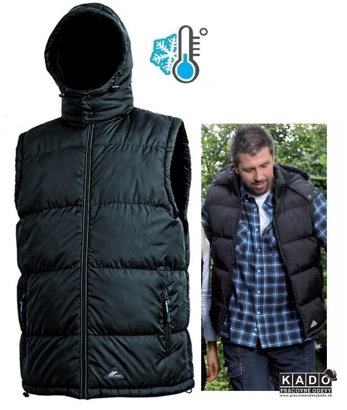 Pracovné odevy - pánska zimná vesta PIERRE CXS  108a4de1a83
