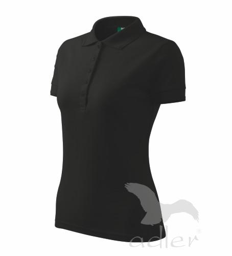 57185b8cad75 Pracovné odevy - 210 Polokošele dámske Pique Polo 200 adler 01 čierna