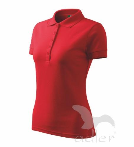 3bca6e0c5f7d Pracovné odevy - 210 Polokošele dámske Pique Polo 200 adler 07 červená