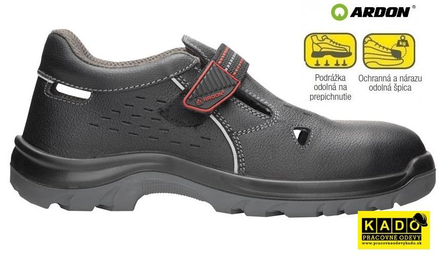 Bezpečnostná obuv ARDON ARSAN REFLEX SANDÁL S1P d8895579136