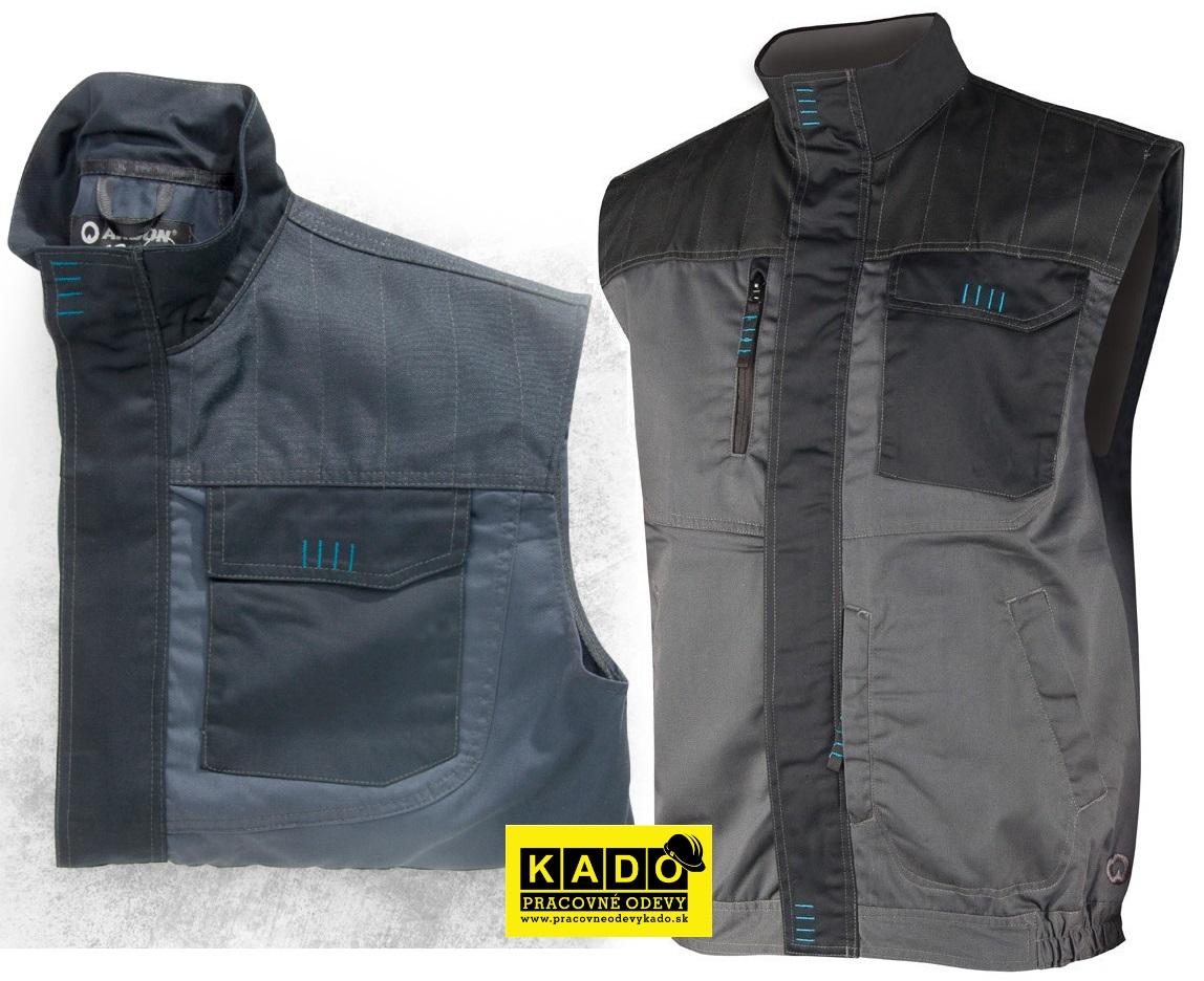 Pracovné odevy - montérková vesta 4TECH 05 ARDON sivo čierna ... 694f78efe16