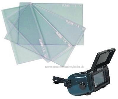 Zváračské sklo čire pre okuliare B-B 40 WELDGUARD  c32ff4bafaa