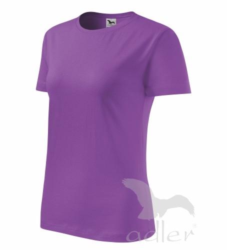 236261fe8205 Pracovné odevy - 134 Tričko dámske Basic adler 64 fialová