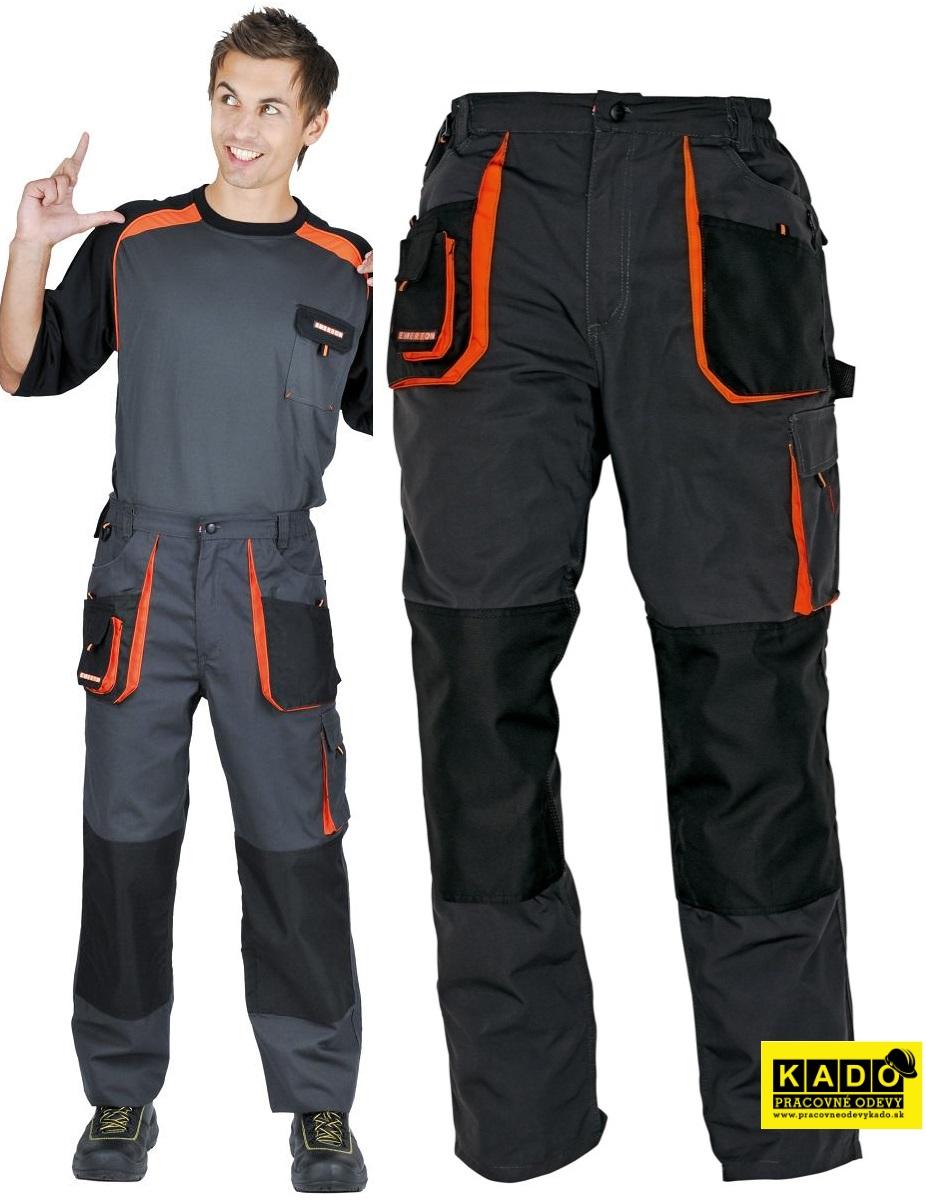 Pracovné odevy - Montérkové Nohavice EMERTON do pásu  c988fd38e71