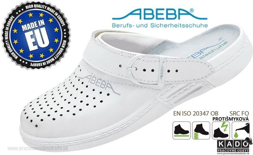 a168f9d10211 Zdravotná pracovná obuv ABEBA 7020 biela