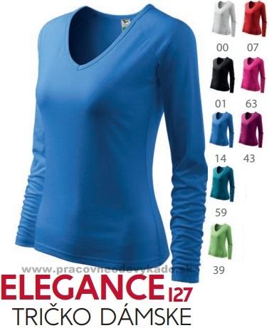 0c017adb0b2b4 Pracovné odevy - 127 Tričko dámske Elegance adler viac farieb ...
