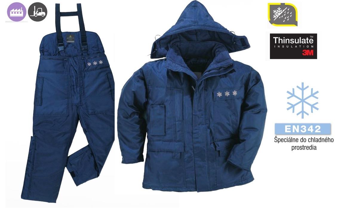 Pracovné odevy - Zimná súprava LAPONIE AUSTRAL DELTAPLUS EXTREME ... 0bb90f06672