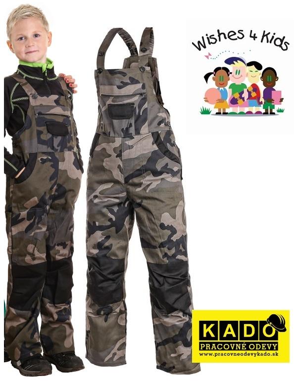 08330fd66b29 Pracovné odevy - Montérky detské maskáčové PINOCCHIO CAMOUFLAGE