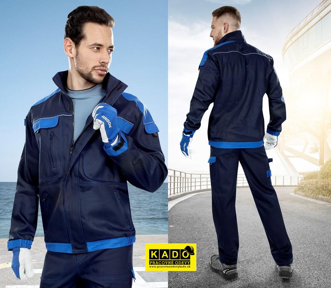 10670e719ca7 Pracovné odevy-Monterková blúza COOL TREND tmavomodrá svetlomodrá