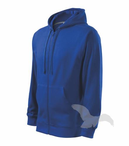 Pracovné odevy-410 mikina Trendy Zipper adler 05 kráľovská modrá ... 2142030e474
