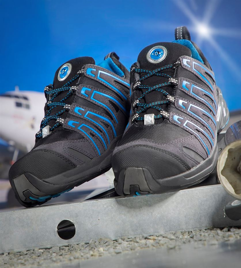 f4c8f0cfdfd3e Bezpečnostná obuv - poltopánky ARDON DIGGER S1P modro/čierne ...