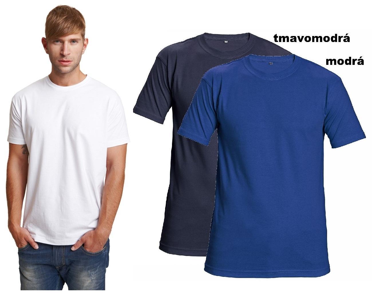 7a97a3fdd5d63 Pracovné odevy - Tričko nadrozmerné 4XL TEESTA ČERVA 160g/m2