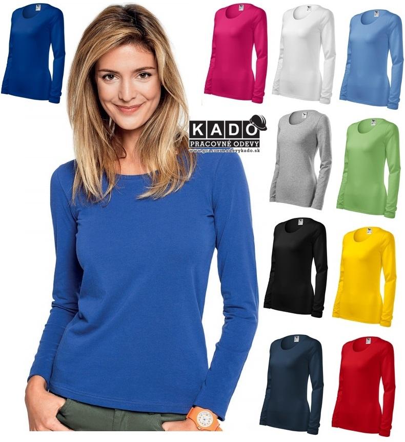58f6f71bbcb8 Pracovné odevy - 139 tričká dámske Slim adler 180g m2