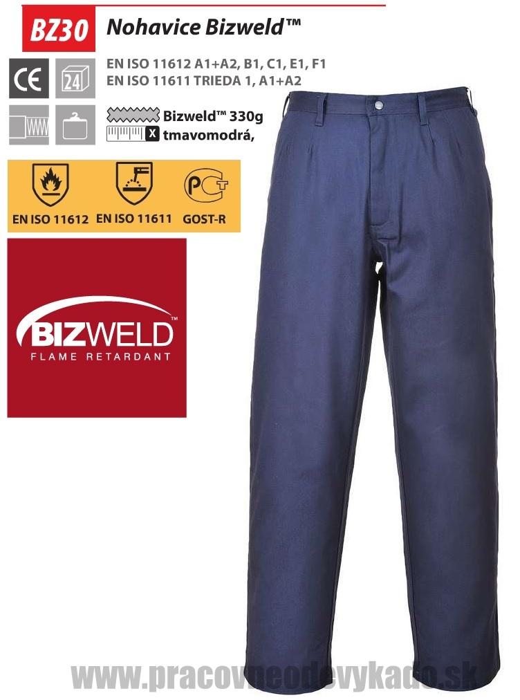 48a6b4d30 Pracovné odevy-Zváračské nohavice Bizweld BZ30 PORTWEST | PRACOVNÉ ...