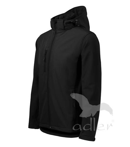 Pracovné odevy-522 softshellové bundy pánske PERFORMANCE ADLER 01 ČIERNA b5267ba356c
