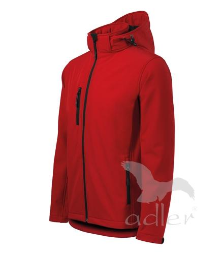 Pracovné odevy-522 softshellové bundy pánske PERFORMANCE ADLER 07 ČERVENÁ a7e534f0715