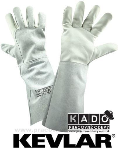 Pracovné rukavice VM E1 15 LI zváračské  f203c859bf