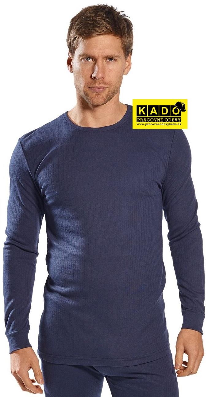 3feebd728cb0c Pracovné odevy - termo tričko s dlhým rukávom b123 Portwest tmavomodré