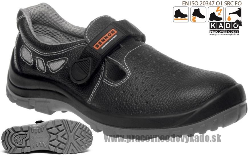 0dfcfee40018 Pracovná obuv - sandál BENNON BASIC O1