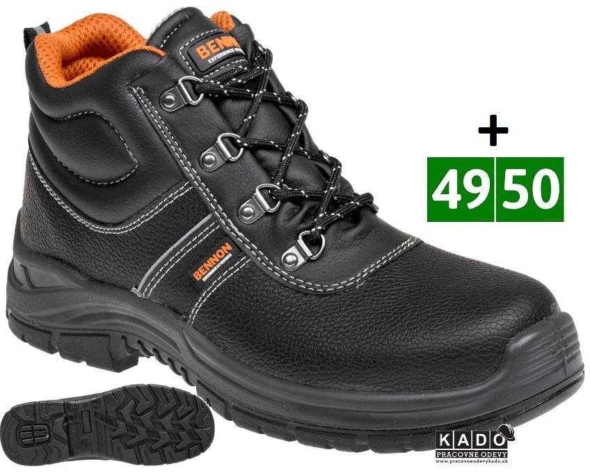 c6ac45256fc5 Pracovná obuv BENNON BASIC kotník O1