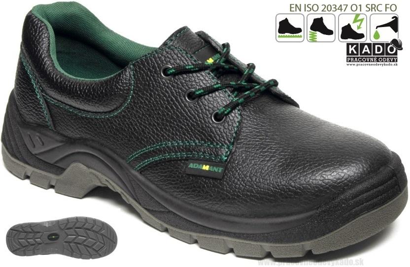 Pracovná obuv Adamant - poltopánka CLASSIC O1  05c02edd31c