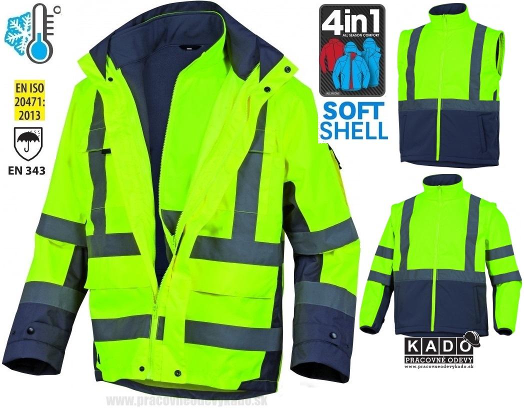 Pracovné odevy - reflexná bunda TARMAC DELTAPLUS 4V1  c3c884354e2
