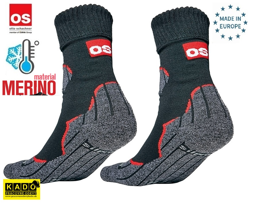 Pracovné odevy - Teplé vlnené ponožky HOLTUM OS Otto Schachner ... 3dbef1298f
