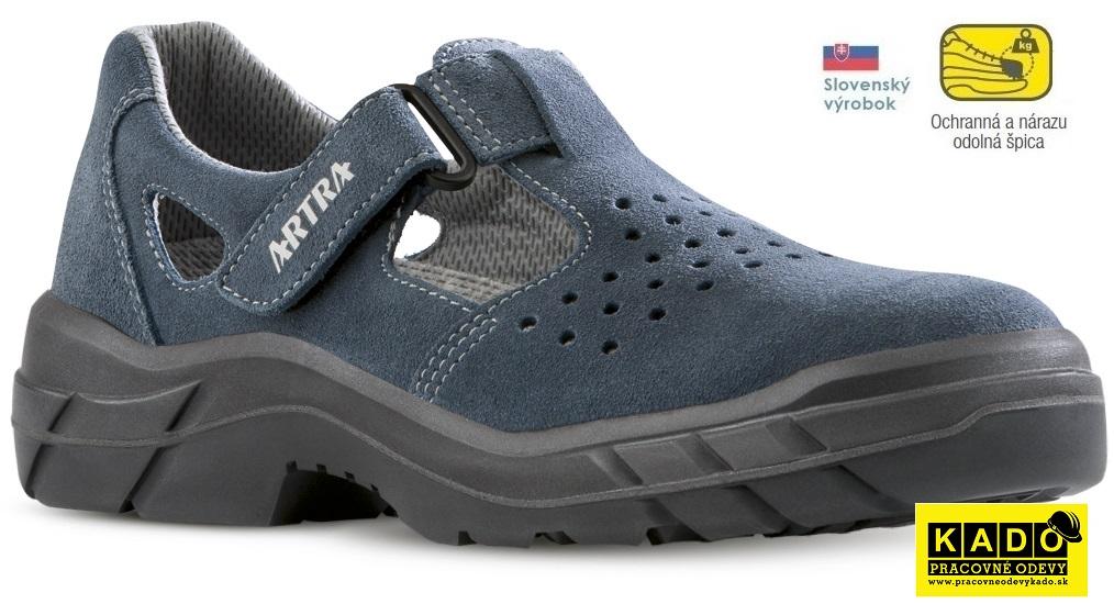 Bezpečnostná obuv Artra - sandále ARMEN S1 MODRÉ  b68b8b1947