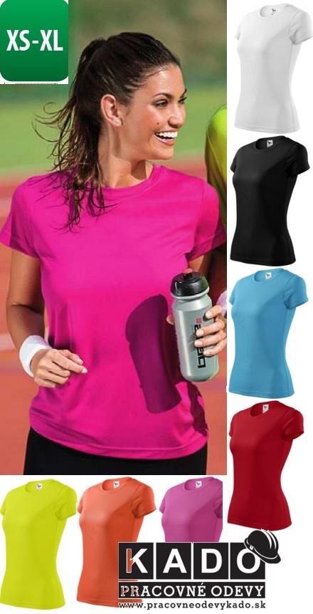 5f8edb91875b7 140 dámske športové polyesterové tričko FANTASY ADLER | PRACOVNÉ ...