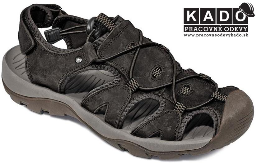 c44551cd3c0a Outdoorová obuv - sandále outdoor TROON CRV ČIERNE