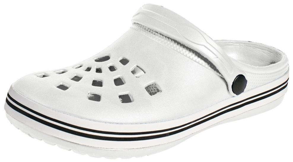 Outdoorová obuv - gumové šľapky NIGU CRV BIELE ac4273d24af