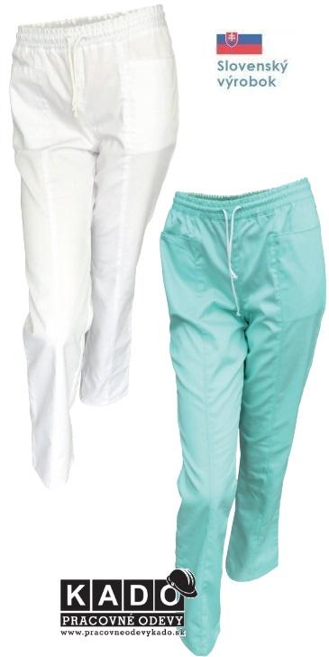 dace76e1cd49 Pracovné odevy - Dámske zdravotnícke nohavice do gumy ČERVA ...