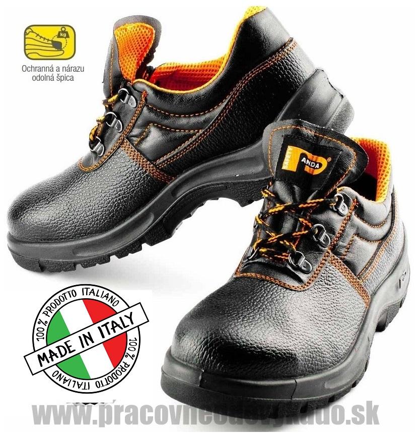 Bezpečnostná obuv PANDA ERGON LOW BETA S1 6211 6ead537ef18