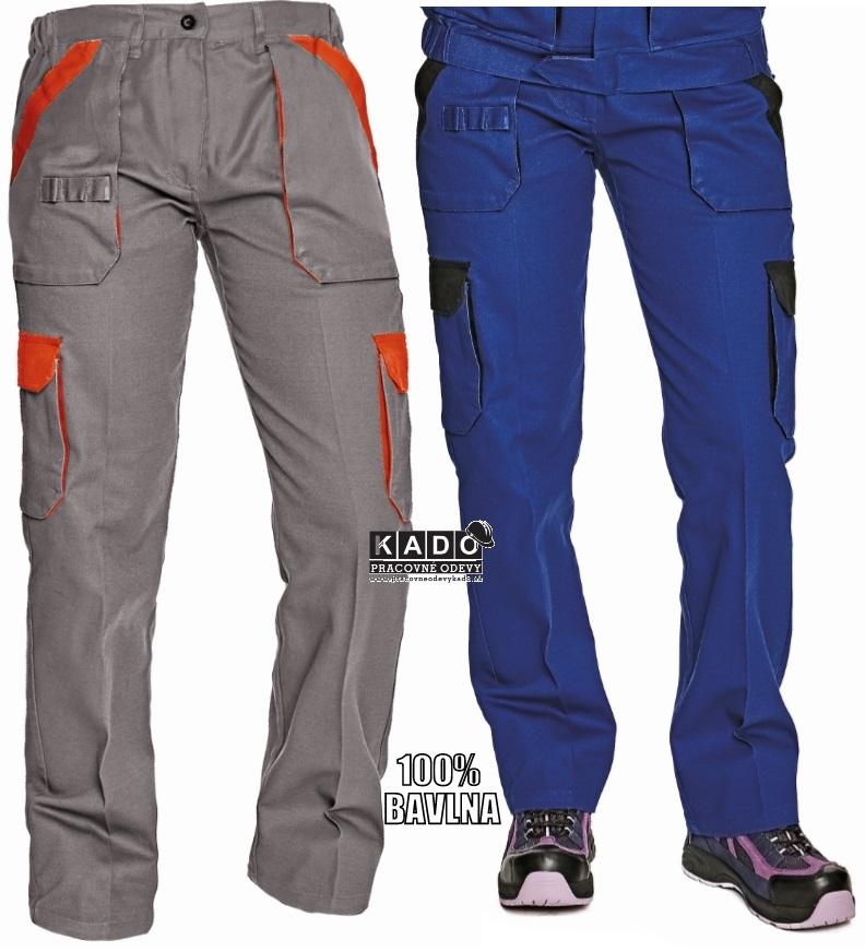 Dámske nohavice do pásu MAX LADY ČERVA  4102ac5d32