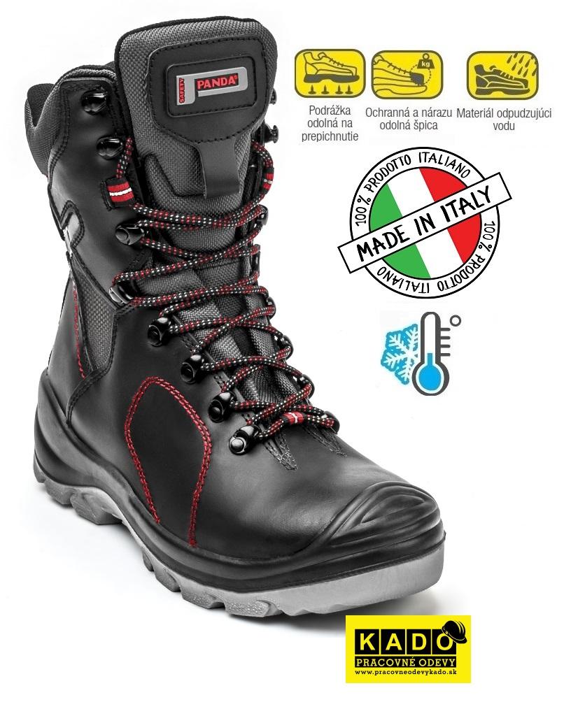a88ae070e879 Bezpečnostná poloholeňová obuv PANDA STRALIS WINTER S3