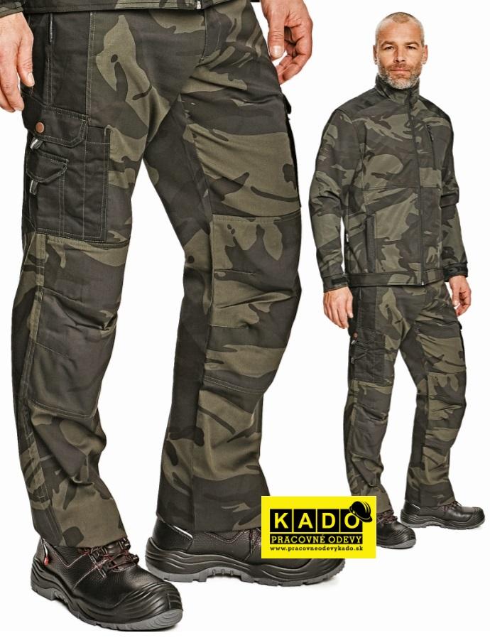 Pracovné odevy - maskáčové nohavice CRAMBE CRV  b0c665806c